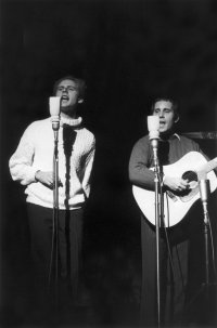 Simon and Garfunkel. Live in NYC. 1967